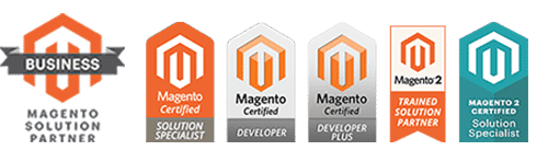 We are Magento Solution Partner